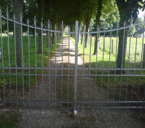 Rénovation d'une grille d'entrée
